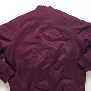 5bb19903671a Nike Jackets   Coats - Nike Air Jordan Wings MA-1 Bomber Jacket Bordeaux